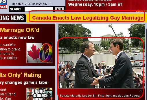 Gay Senators? Or just unfortunate juxtaposition?