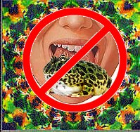 No Toad Licking