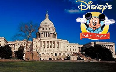 Congress brought to you by the fine folks at Disney