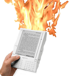 Kindle on Fire